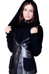 Куртка из кожи, комбинированной с трикотажем. Фото 1.