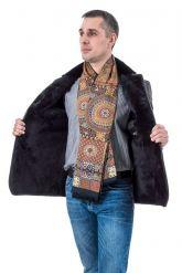 Мужская куртка дубленка. Фото 3.