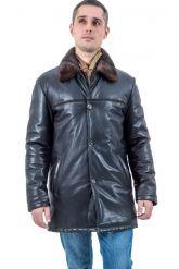 Зимняя кожаная куртка HOGGER. Фото 1.