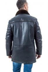 Зимняя кожаная куртка HOGGER. Фото 2.