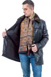 Зимняя кожаная куртка HOGGER. Фото 3.