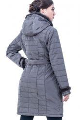 Классическое пальто цвета каппучино. Фото 2.