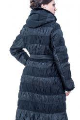 Комбинированное пальто. Фото 2.