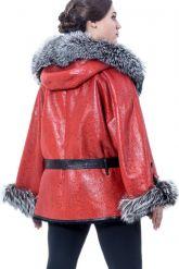 """Дубленчатая кожаная куртка """"Матрикс"""". Фото 2."""