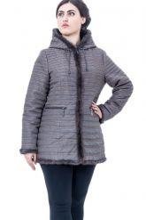 Женская демисезонная стеганая куртка. Фото 1.