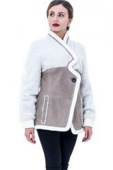 Молодежная дубленка-пиджак. Фото 1.