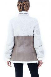 Молодежная дубленка-пиджак. Фото 2.