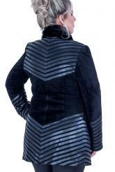 Замшевый пиджак. Фото 2.