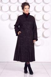 Длинное кожаное пальто RAFINNA. Фото 3.