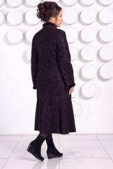 Длинное кожаное пальто RAFINNA. Фото 4.