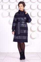 Кожаное пальто GALISITA-TRIKOL. Фото 1.