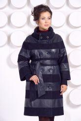 Кожаное пальто GALISITA-TRIKOL. Фото 2.