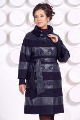 Кожаное пальто GALISITA-TRIKOL. Фото 3.