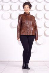 Женская кожаная куртка LARA16. Фото 1.