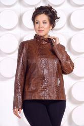 Женская кожаная куртка LARA16. Фото 2.
