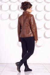 Женская кожаная куртка LARA16. Фото 4.