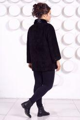 Элегантная куртка из натуральной замши. Фото 4.