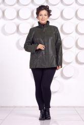 Замшевая куртка больших размеров. Фото 1.