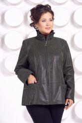Замшевая куртка больших размеров. Фото 3.