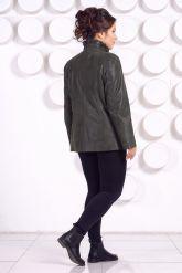 Замшевая куртка больших размеров. Фото 4.
