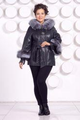 Кожаная куртка для милых дам. Фото 1.