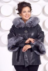 Кожаная куртка для милых дам. Фото 2.