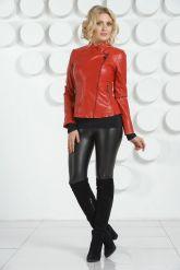 Модная куртка с узором на спине. Фото 1.