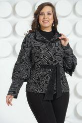 Кожаная куртка с лазерной обработкой. Фото 3.