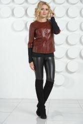 Модный кожаная куртка. Фото 1.