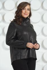 Стильная женская кожаная куртка. Фото 2.