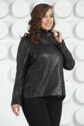 Стильная женская кожаная куртка. Фото 3.