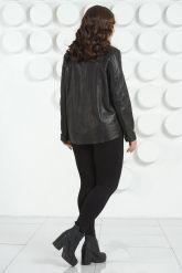 Стильная женская кожаная куртка. Фото 4.