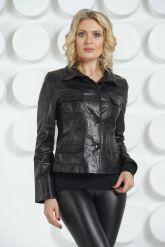 Молодежный кожаный пиджак. Фото 2.