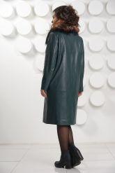 Роскошное итальянское кожаное пальто. Фото 4.