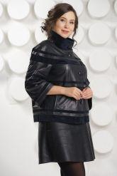 Модная куртка больших размеров. Фото 3.
