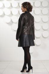 Кожаная куртка- пиджак. Фото 4.