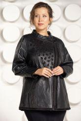 Красивая кожаная куртка для женщин. Фото 3.