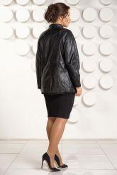 Красивая кожаная куртка для женщин. Фото 4.