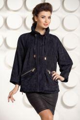 Оригинальная куртка из натуральной замши. Фото 2.