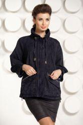 Оригинальная куртка из натуральной замши. Фото 3.