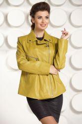 Короткая кожаная куртка  Милан. Фото 3.