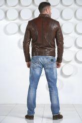 Мужская кожаная куртка. Фото 4.