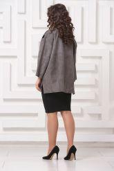 Стильная замшевая куртка DONNA BONITA. Фото 2.