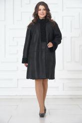 Классическое пальто из овчины. Фото 2.