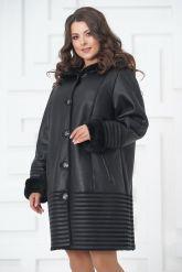 Женское пальто из овчины. Фото 2.