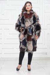 Роскошное меховое пальто от PUNTO. Фото 1.