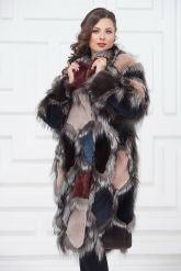 Роскошное меховое пальто от PUNTO. Фото 2.
