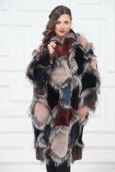 Роскошное меховое пальто от PUNTO. Фото 3.