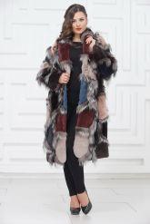 Роскошное меховое пальто от PUNTO. Фото 6.