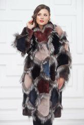 Роскошное меховое пальто от PUNTO. Фото 7.